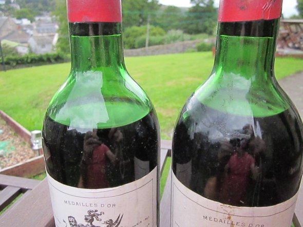 Two Bottles of 1970 Chateau Montrose  Saint-Estephe
