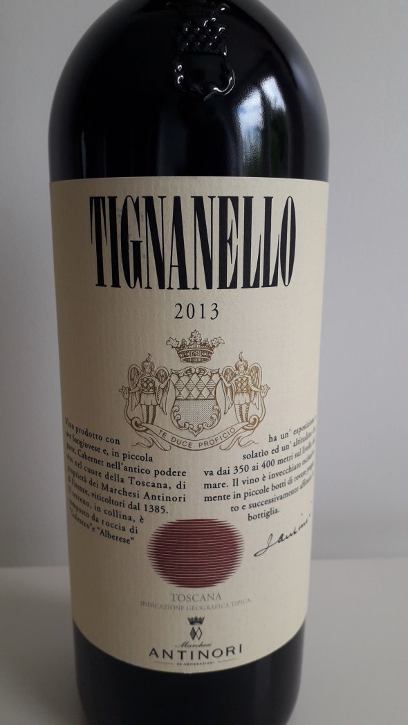 Tignanello, Marchesi Antinori, Toscana IGT