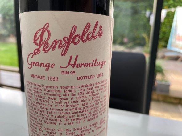 Penfolds, Grange, South Australia