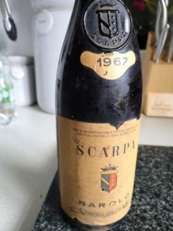 Scarpa, Barolo, Riserva Speciale