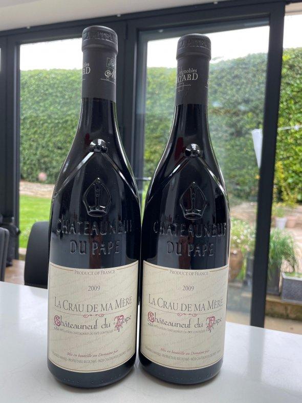 Mayard, Chateauneuf-du-Pape, Crau Ma Mere Rouge