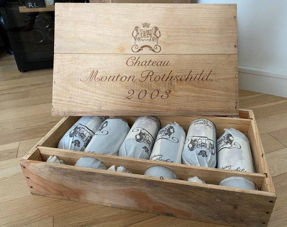 Chateau Mouton Rothschild Premier Cru Classe, Pauillac