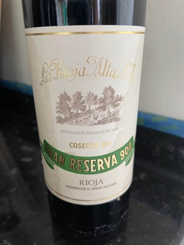 La Rioja Alta, Gran Reserva 904, Rioja
