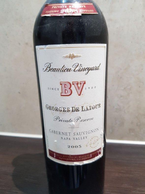 Beaulieu Vineyard, Georges Latour Private Reserve Cabernet Sauvignon - 95 points