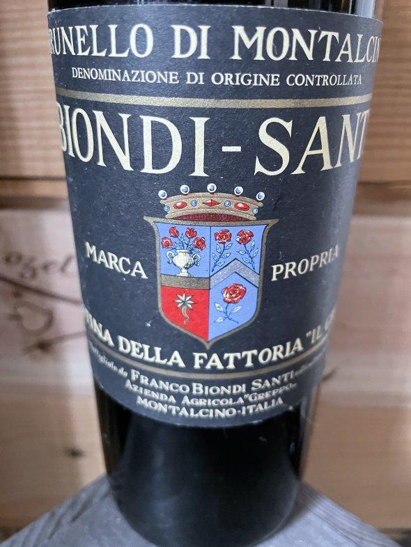 1978 Biondi Santi, Rosso di Montalcino, Greppo