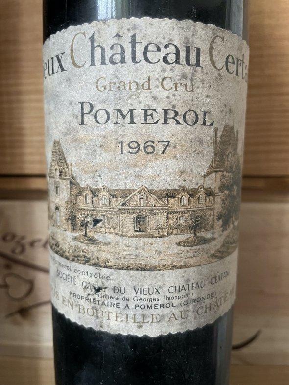 1967 Vieux Chateau Certan, Pomerol