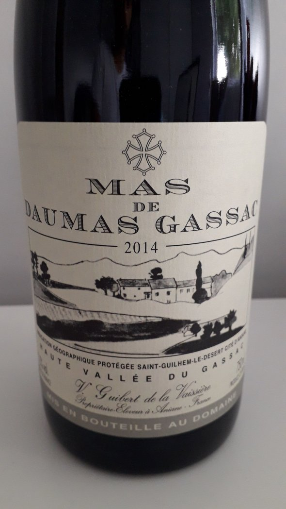 Mas de Daumas Gassac, Rouge, Saint-Guilhem-le-Desert IGP