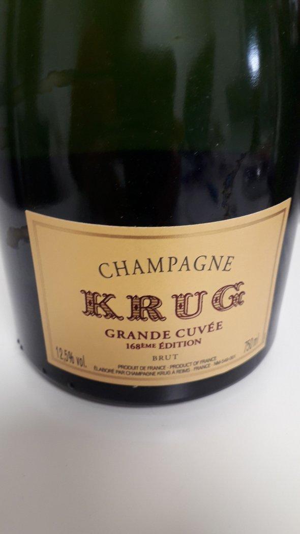 Krug, Grande Cuvee, 168eme edition