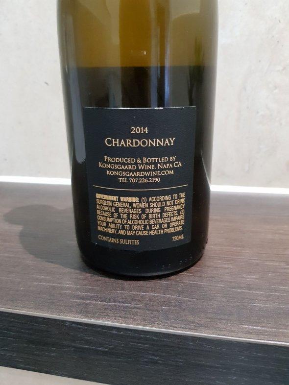 Kongsgaard, Chardonnay - 94 Points