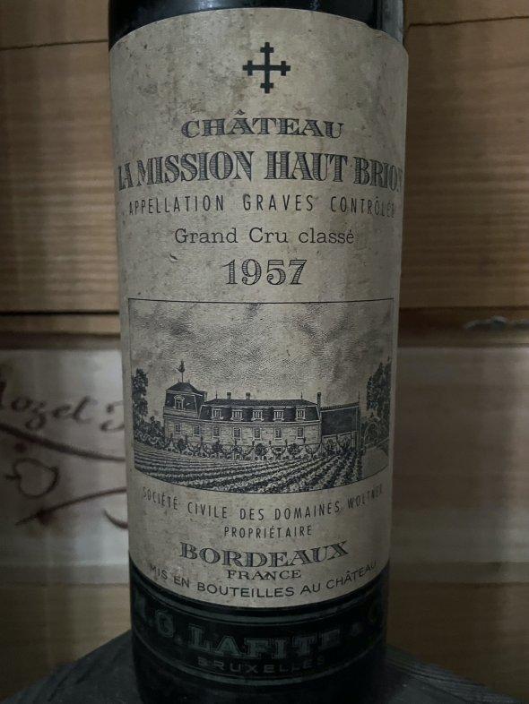 1957 Chateau La Mission Haut-Brion Cru Classe, Pessac-Leognan