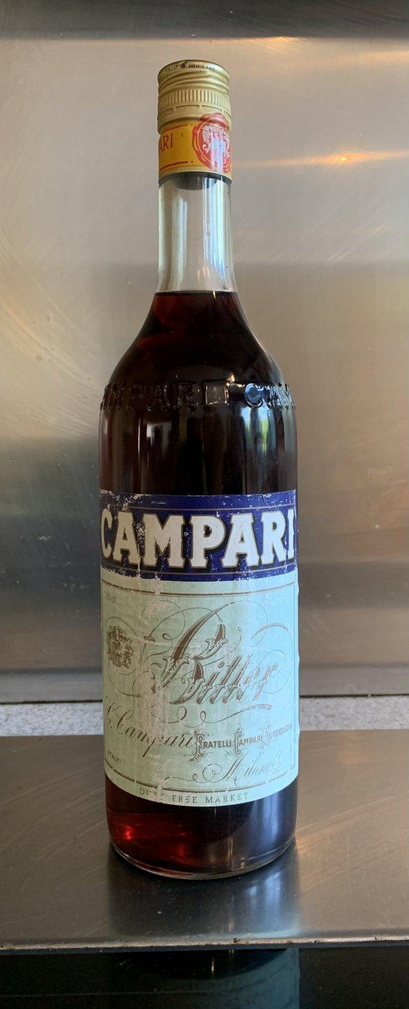 Campari, Campari Bitters