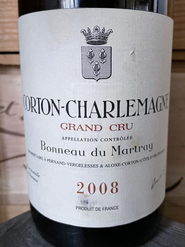2008 Domaine Bonneau du Martray, Corton-Charlemagne Grand Cru