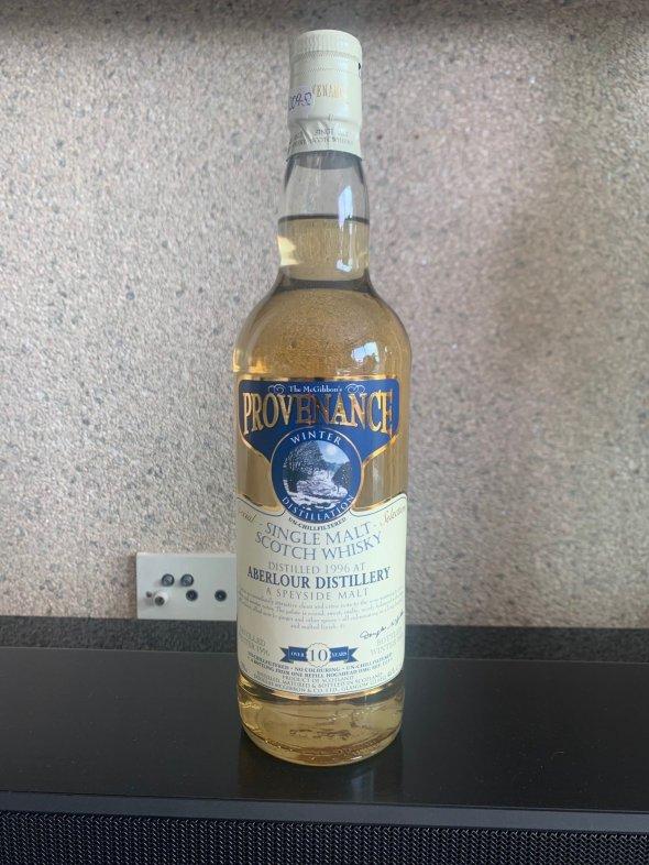 Aberlour (the McGibbon's Provenance ) Single Malt 10 years old Whisky