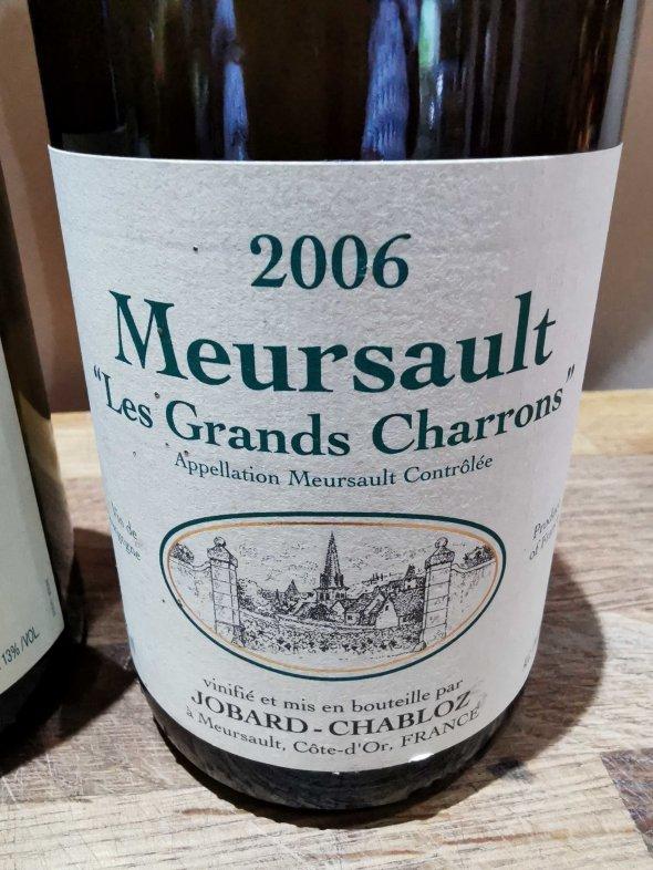 JOBARD-CHABLOZ MEURSAULT LES GRANDS CHARRONS