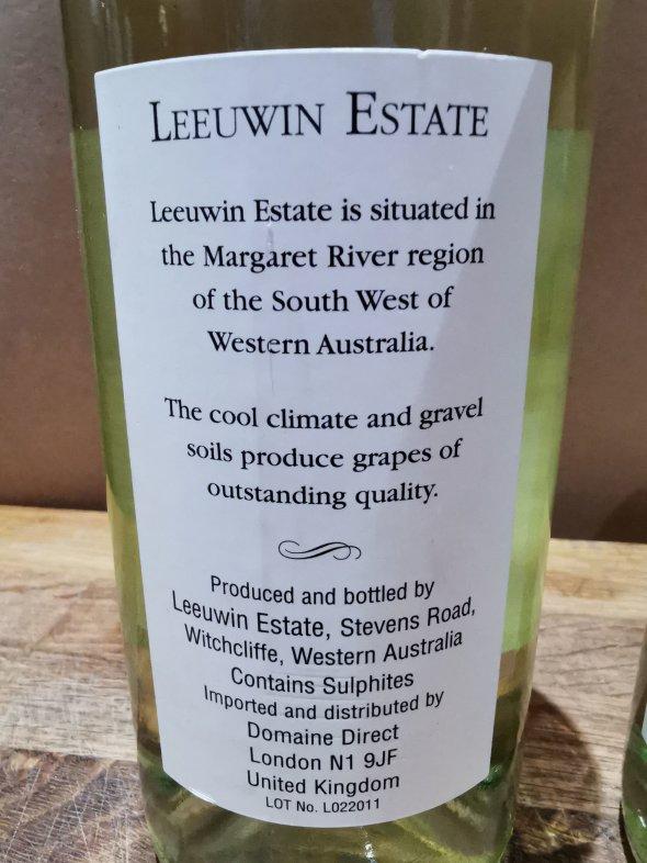 Leeuwin Estate, Art Series Sauvignon Blanc, Margaret River