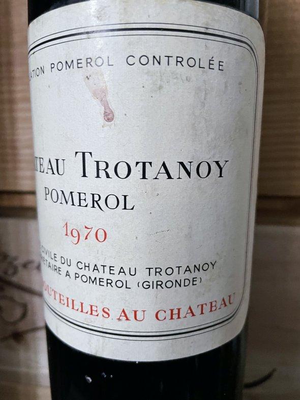 1970 Chateau Trotanoy, Pomerol