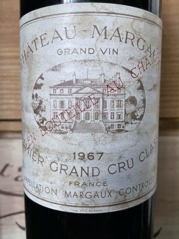 1967 Chateau Margaux Premier Cru Classe, Margaux
