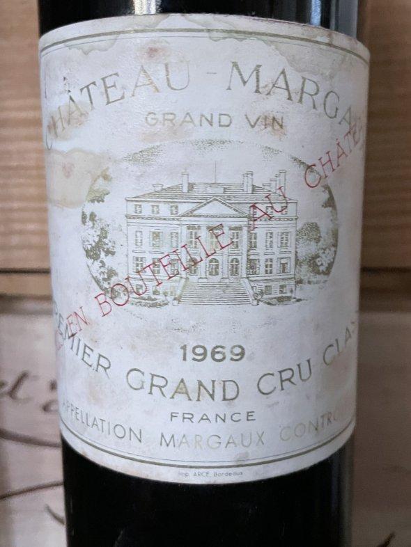 1969 Chateau Margaux Premier Cru Classe, Margaux