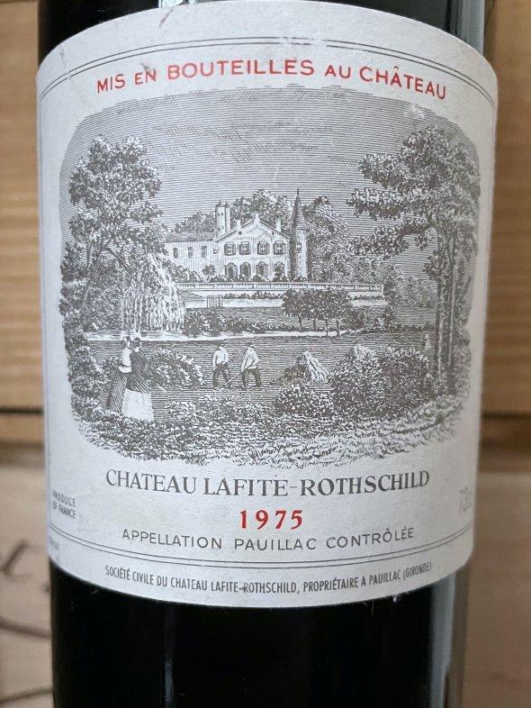 1975 Chateau Lafite Rothschild Premier Cru Classe, Pauillac