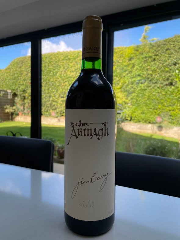 Jim Barry, The Armagh Shiraz, Clare Valley