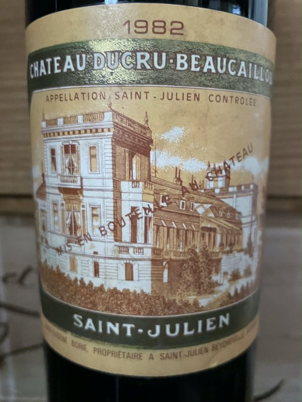 1982 Chateau Branaire-Ducru 4eme Cru Classe, Saint-Julien