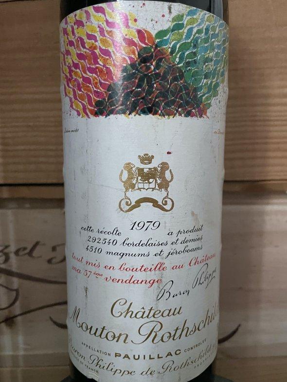 1979 Chateau Mouton Rothschild Premier Cru Classe, Pauillac