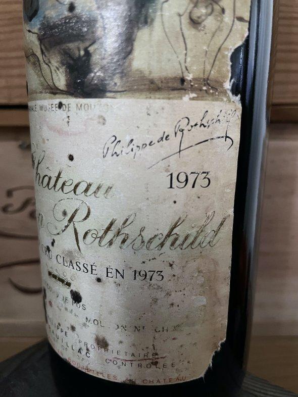 1973 Chateau Mouton Rothschild Premier Cru Classe, Pauillac