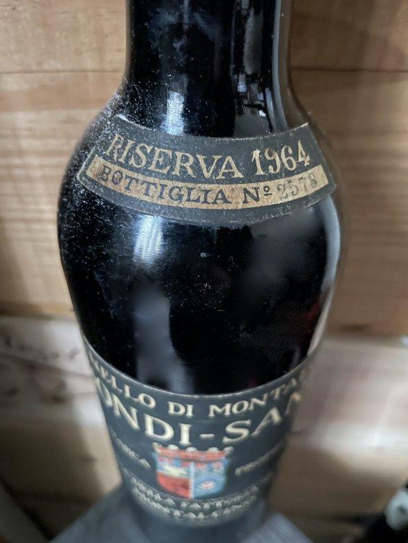 1964 Biondi-Santi, Brunello di Montalcino, Riserva