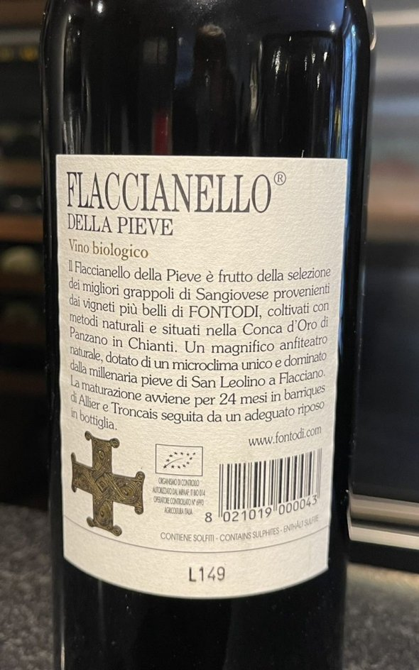 Fontodi, Flaccianello delle Pieve, Colli della Toscana Centrale IGT
