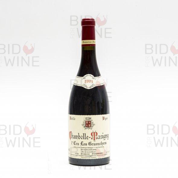 Domaine Fourrier, Chambolle Musigny Les Gruenchers, Vieilles Vignes, 1er Cru