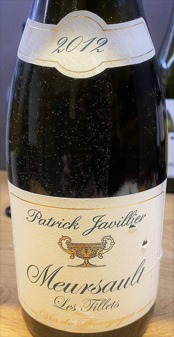 Patrick Javillier, Meursault, Les Tillets