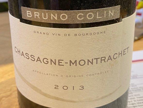 Bruno Colin, Chassagne-Montrachet, Blanc