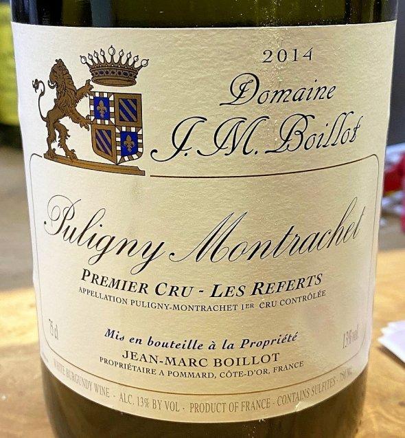 Jean-Marc Boillot, Puligny-Montrachet Premier Cru, Les Referts