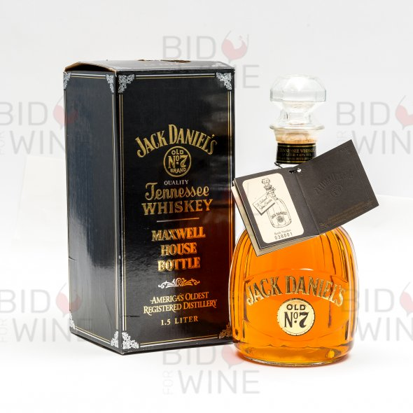 Jack Daniel's Old No. 7 Maxwell House Decanter, 1995 version [magnum]