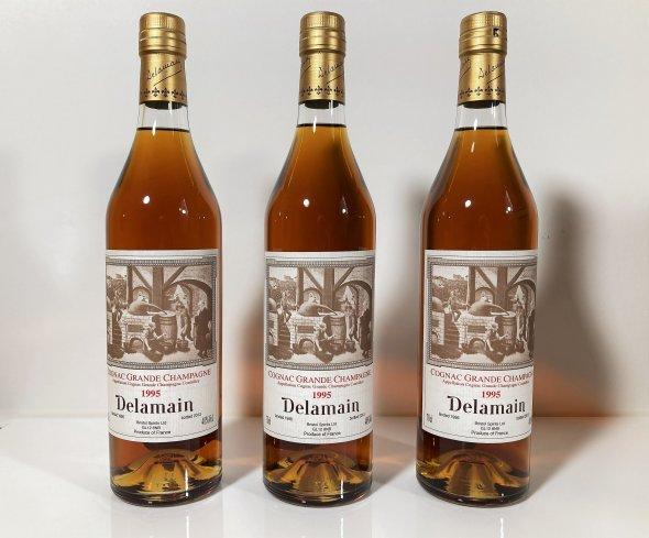 Delamain, Vintage, Grande Champagne Cognac