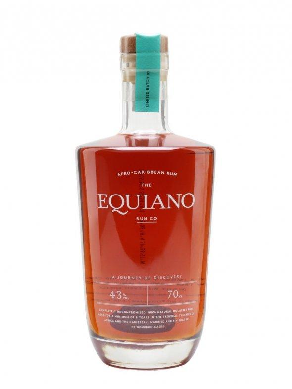 The Equiano Rum Co. Dark Rum