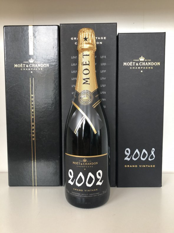 Moet et Chandon Grand Vintage Tasting Lot