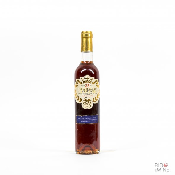 Rivesaltes Ambre Hors d'Age (25 years Old)