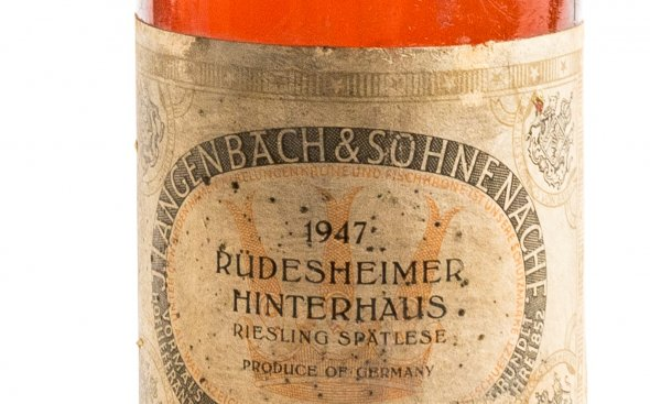 Rudesheimer Hinterhaus Riesling Spatlese