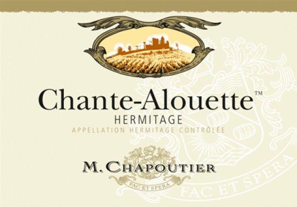 Hermitage Chante Alouette, Chapoutier