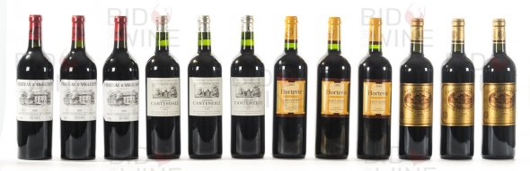 Old Friends Claret Wine Society Mixed Case