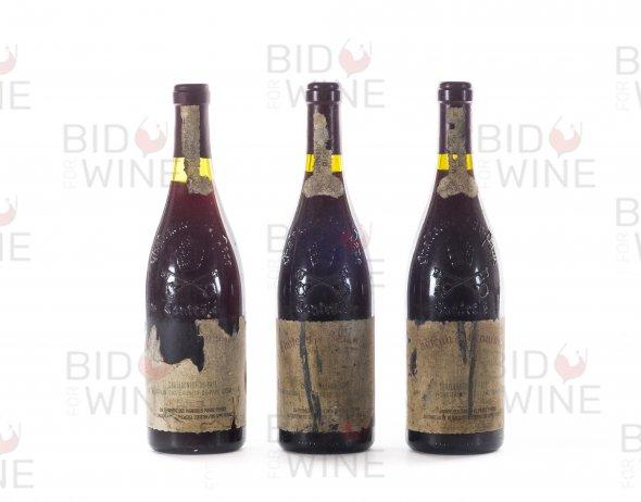 Chateau de Beaucastel Vertical: 1990 (1 bottle), 1995 (2 bottles)